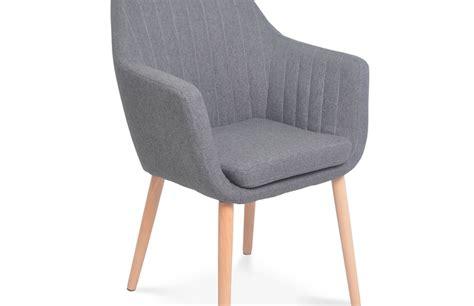 chaises scandinave lot de 2 chaises scandinave gris pièce à vivre