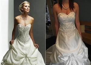 fake wedding dress brides beware pinterest wedding With buying a wedding dress online