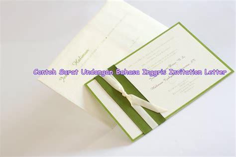 contoh undangan wedding party bahasa inggris contoh isi