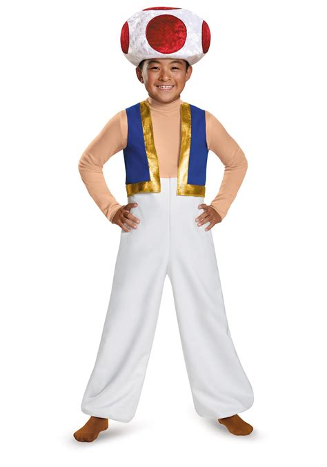 boys costumes boys toad deluxe costume