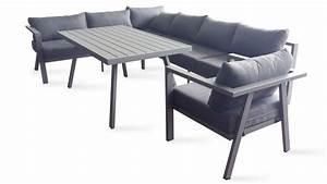 Table De Jardin 8 Places : salon jardin table fauteuil canap d 39 angle ~ Teatrodelosmanantiales.com Idées de Décoration