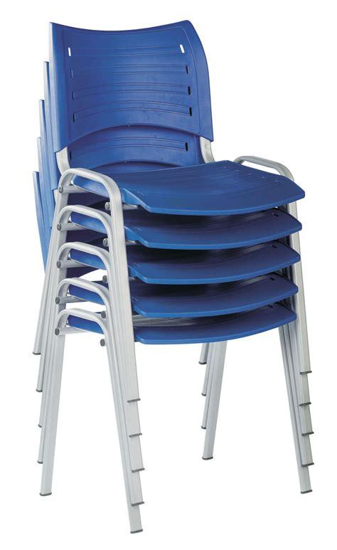 ergonomie poste de travail bureau chaise plastique 4 pieds résistante