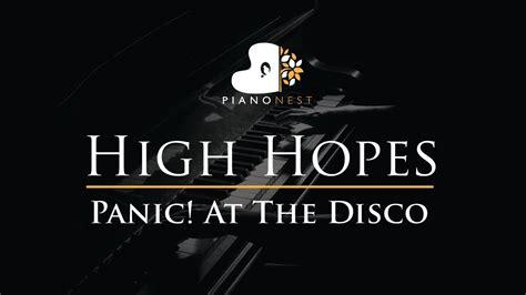 panic   disco high hopes piano karaoke sing