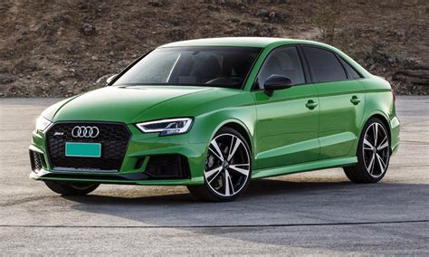 here s how much you ll pay for the audi rs3 sedan car magazine