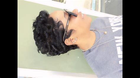 How To Curl Short Hair (black Hair)