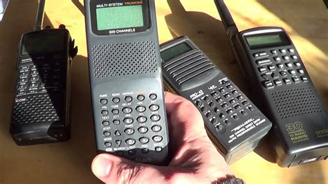 Getting Started In The Radio Scanner Hobby Different Types