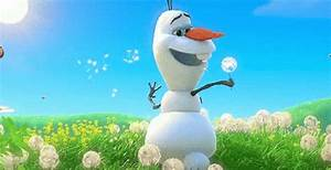 Snow Dandelions GIF - Snow Dandelions Olaf - Discover ...