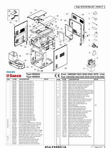 Philips Saeco Exprelia Parts Diagram
