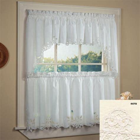 kitchen curtains set amazoncom