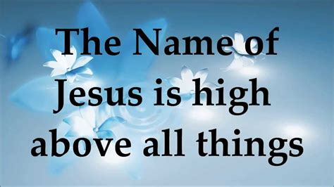 Other Names For by Planet Shakers No Other Name Lyrics 2014
