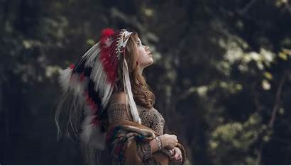 Native American Headdress Americans Clothing Wallpapers Desktop