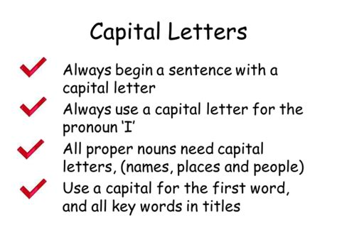 all worksheets 187 using capital letters and stops