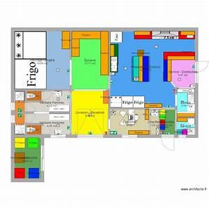 plan cuisine professionnelle plan 17 pieces 114 m2 With plan cuisine restaurant normes
