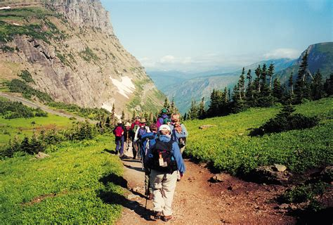 glacier national park vacation for women montana hiking
