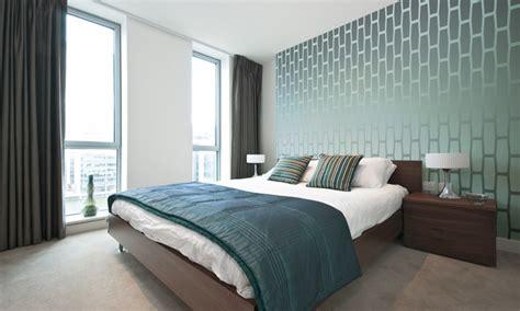 Wallpaper In The Bedroom Master Bedroom Wallpaper Modern