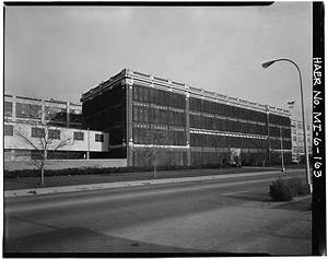Dodge Hamtramck Plant Office Building Description and Photos