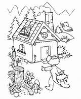 Joseph Prison Coloring Pages Pigs Three Houses Jail Printable Sma Grisar Getcolorings Getdrawings Tre Ideer Skola sketch template