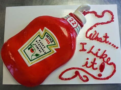 Photos - Google+ Ketchup bottle cake | Novelty cakes ...