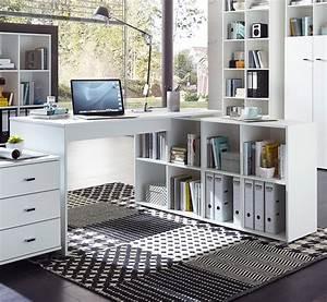Bureau Avec Rangement : grand bureau avec rangement bureau d angle petite taille lepolyglotte ~ Teatrodelosmanantiales.com Idées de Décoration