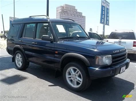 blue land rover discovery 2003 oslo blue land rover discovery se7 68889662 photo 4