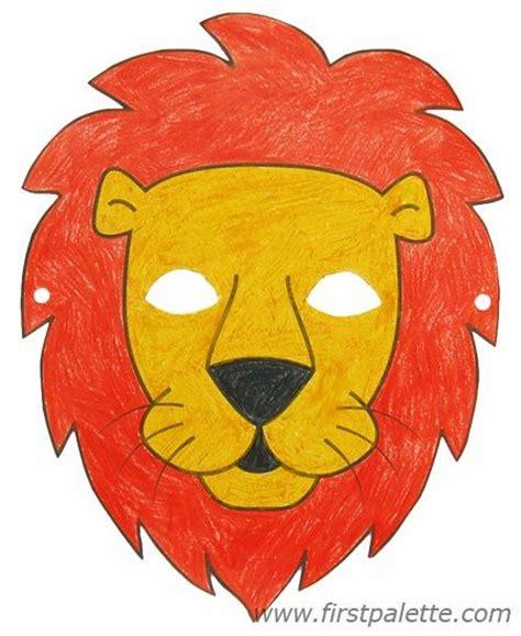 printable animal masks images  pinterest craft