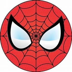 Spiderman Face Template Clipartsco