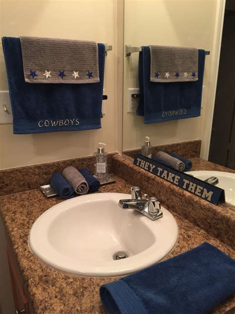 dallas cowboy bathroom  design dallas cowboys dallas