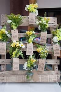 Nom De Table Mariage Champetre : un plan de table mariage en palettes 20 id es inspirez vous ~ Melissatoandfro.com Idées de Décoration