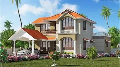 Houses Casas Desktop Paramount Plans Kerala Television