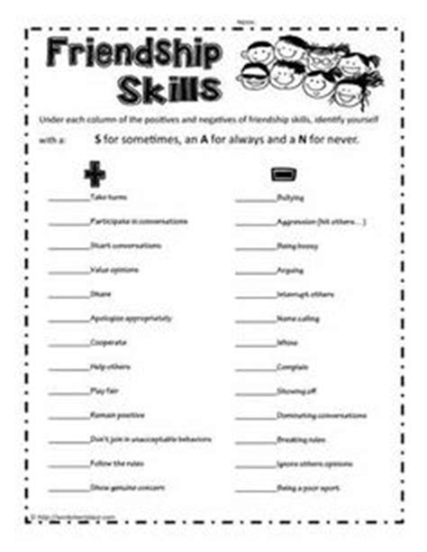 appreciating others scout brownies pinterest worksheets and social skills