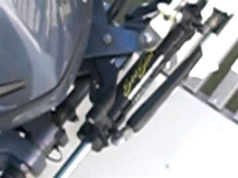 Hydraulic Steering On Boat Is Stiff by Outboard Motor Conversion Steering Steering Rod By Moby