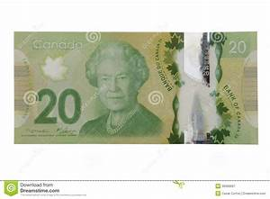 New 20 Canadian Dollar Bill Royalty Free Stock Photography ...