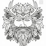 Faces Coloring Icolor Adults Colouring Pyrography Floral sketch template