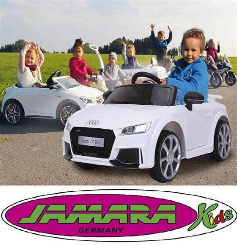 kinder auto audi jamara kinder auto elektroauto audi tt rs roadster ride on