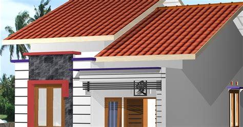 model rumah minimalis sederhana rancangan rumah  tata