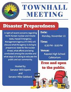 Hawaii Emergency Management Agency | Disaster Preparedness ...