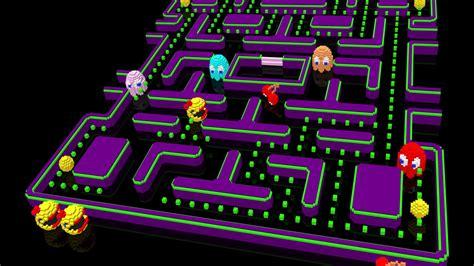Video Games Pacman Retro Wallpaper Allwallpaperin