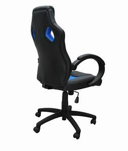 Chaise De Bureau Bleu : chaise de bureau sportif bleu magasin en ligne gonser ~ Teatrodelosmanantiales.com Idées de Décoration