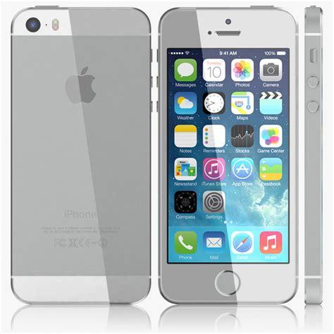 apple iphone 5s 3d apple iphone 5s