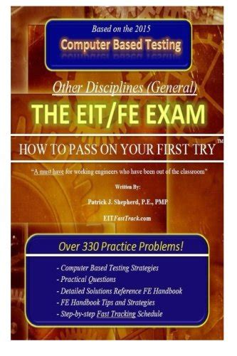 eit practice exam the eit fe exam how to pass on your first try fasttrack
