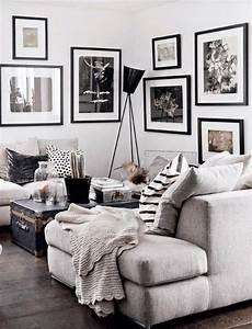 Moderne Wohnzimmer Schwarz Weiss : wandfarbe wei stilvoll und immer modern ~ Markanthonyermac.com Haus und Dekorationen