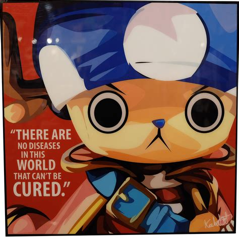 tony tony chopper inspired plaque mounted poster  diseases