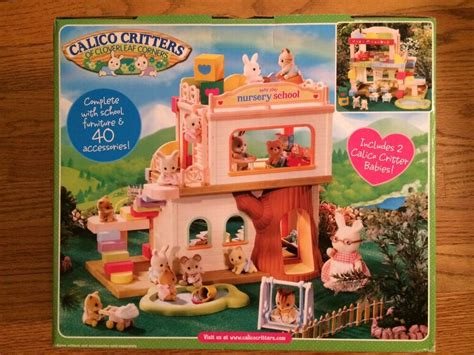 calico critters cc2109 baby play nursery school new in box 682 | s l1000