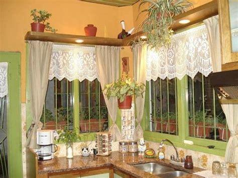 como hacer cortinas  cocina