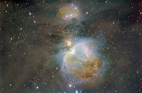 budgetastro - M42 (The Orion Nebula) In Narrowband