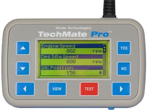 techmate pro marine engine diagnostic scan tool