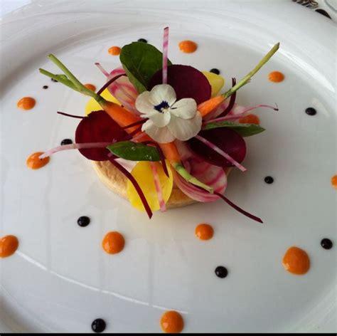 la cuisine d ugo entrée de légumes hôtel restaurant cailler sa charmey gruyère par yukary food reporter
