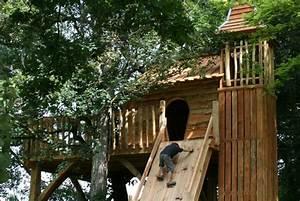 Constructeur Cabane Dans Les Arbres : cabane d 39 enfant des cureuils nidperch constructeur de cabane ~ Dallasstarsshop.com Idées de Décoration