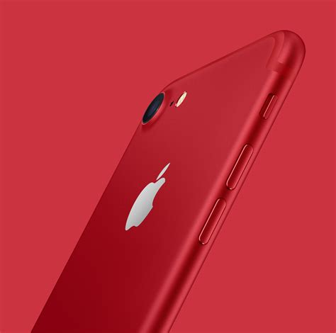 Apple Unveils Iphone 7/plus (product)red Special Edition