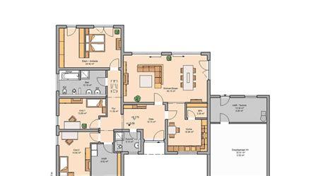 Grundrisse Einfamilienhaus Mit Garage by Bungalow Grundrisse Mit Garage Grundriss Bungalow Qm Mit